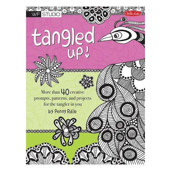 Tangled Up! Colouring Book
