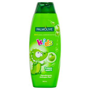 Palmolive 3in1 Kids Shampoo, Conditioner & Bodywash Happy Apple 350ml