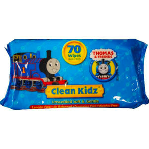 Thomas & Friends Clean Kidz Hand & Face Wipes
