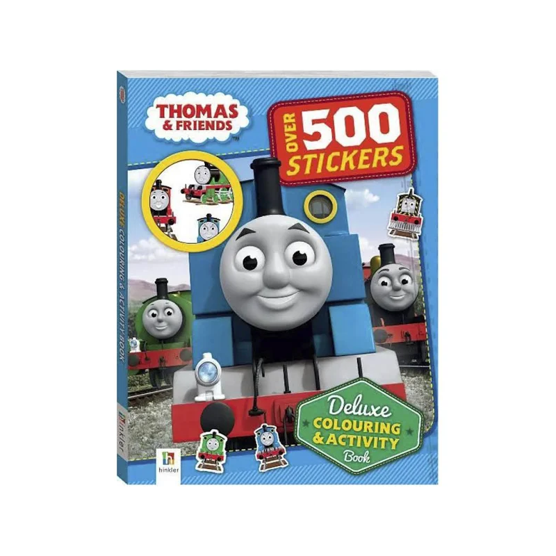 Thomas & Friends Deluxe Colouring and Activity Book