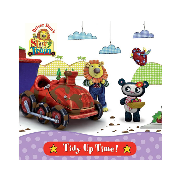 Driver Dan's Story Train: Tidy Up Time Book