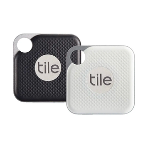 Tile URB Pro Combo 2-Pack Bluetooth Tracker - Black/White