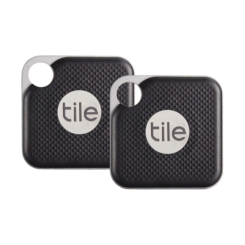Tile URB Pro Bluetooth Key Tracker Black - 2 Pack