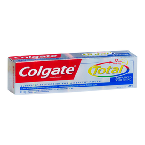 6 x Colgate Total Advanced Whitening Toothpaste 110g