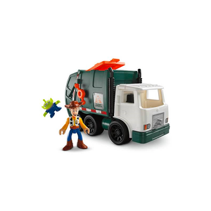 Toy Story Imaginext Tri-County Sanitation Garbage Truck