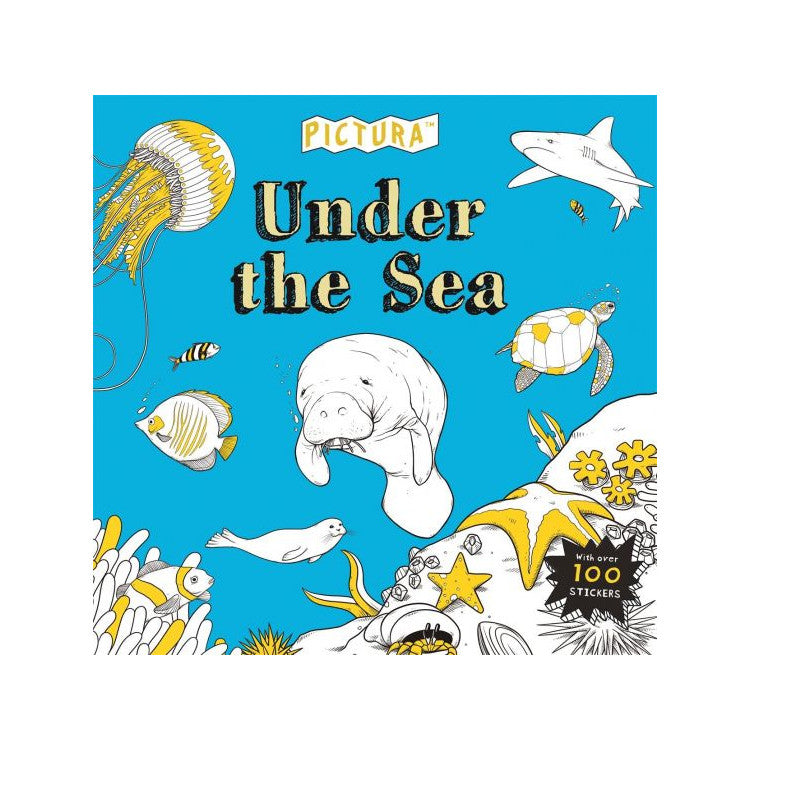 Pictura Under The Sea Colouring Book