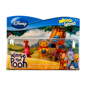 Disney Winnie The Pooh Micro World Collection Set