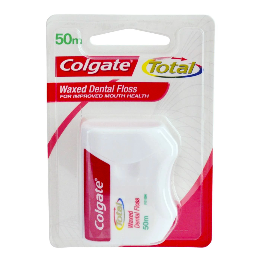 2 x Colgate 50m Waxed Dental Floss Smooth Sales