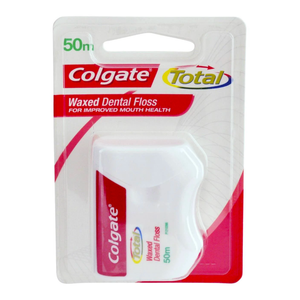 2 x Colgate 50m Waxed Dental Floss