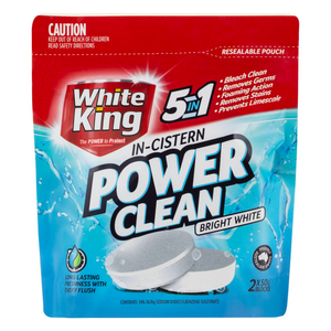 White King: In-Cistern Toilet Power Clean (2 PK)