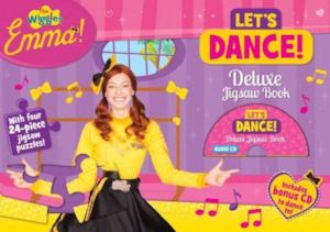 Wiggles Emma! Let's Dance! Deluxe Jigsaw Book with CD