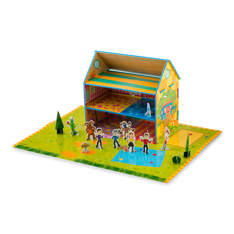 The Wiggles Storybook and Playhouse Set