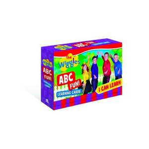 The Wiggles Learning Cards I Can Learn ABC Fun!