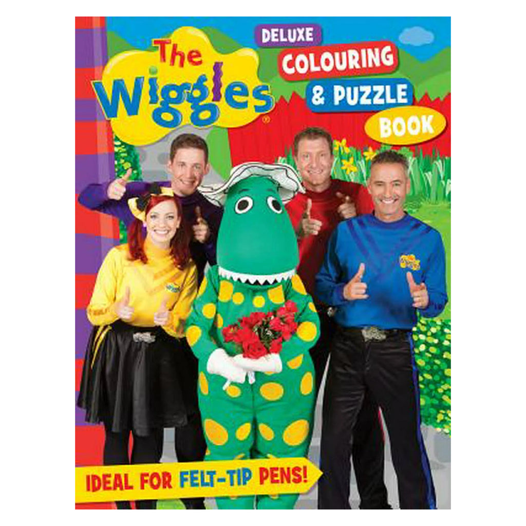 Wiggles Deluxe Colouring Book