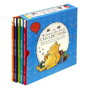 Winnie The Pooh 5 Book Collection Box-Set