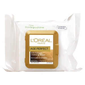 L'Oréal Paris Age Perfect Cleansing Wipes 25 Pk