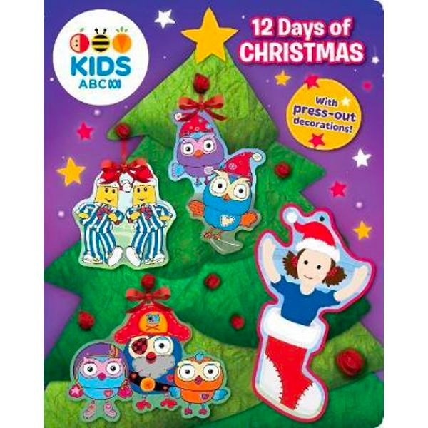 ABC KIDS: 12 Days of Christmas : Press-out decoration book