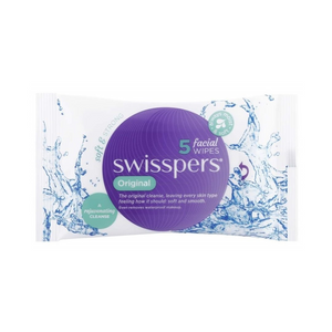 Swisspers Original Facial Cleansing Wipes (5 Pack)