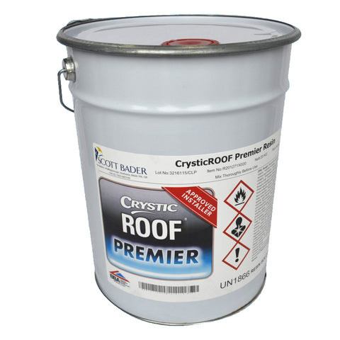 CrysticROOF Premier Resin BBA Approved (20kg) (Approved installers only)