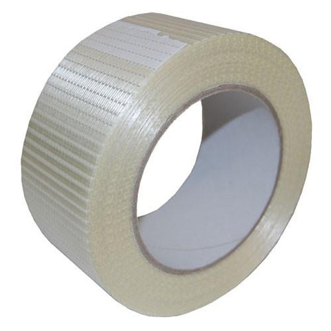 Woven Glassfibre Tape 50mm width x 50m roll