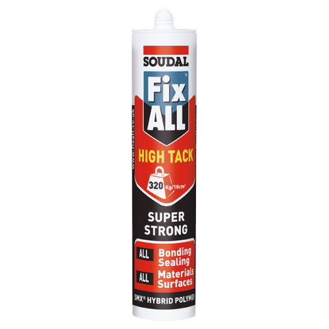 Fix All High Tack Trim Adhesive/Sealer - Single Tube