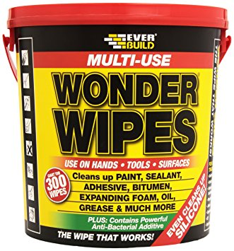Everbuild Giant wipes  300