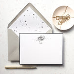 Personalised Name Zodiac Notecard Set