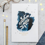 Zodiac Constellation Personalised Name Notebook