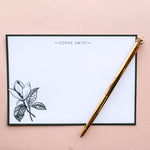 Mother's day Green Magnolia Personalised Postcard Set