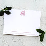 Orange Blossom Personalised Name Stationery Set