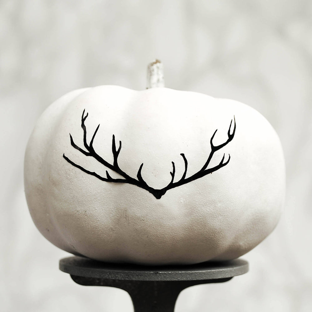 Nordic Halloween Pumpkin Sticker