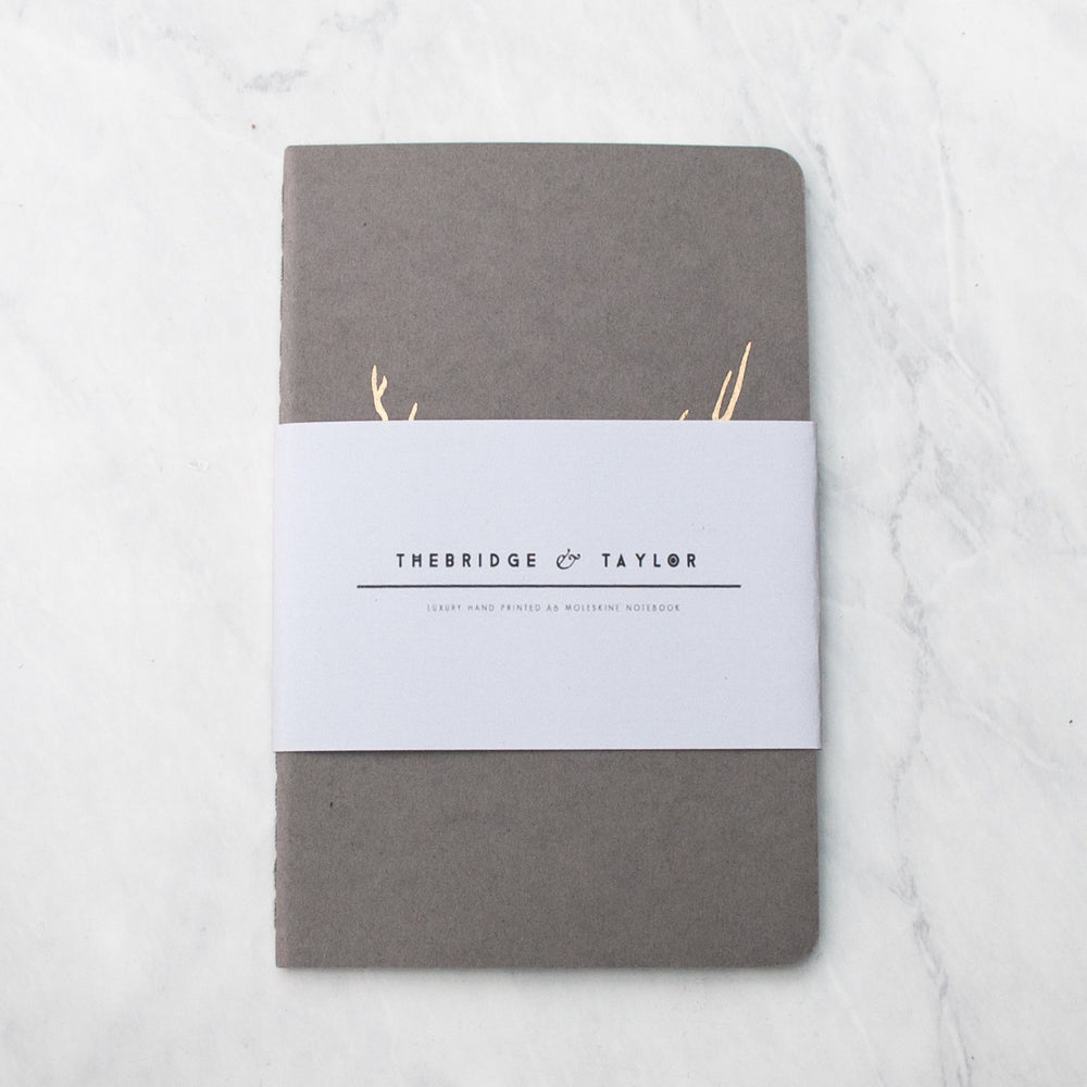 Luxury Traveller's Copper Moleskine Notebook