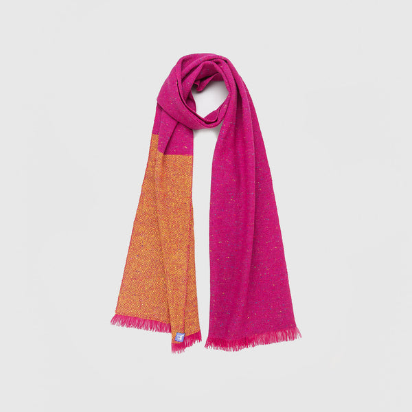 Regular Fleck Plain Weave Scarves Pink Range