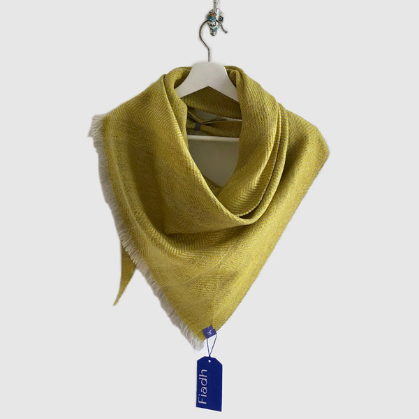 Large Silky Light Twill Triangle Scarves