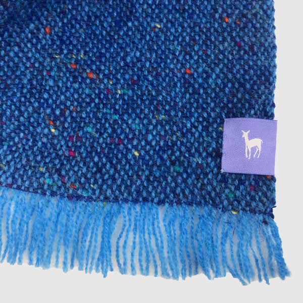 Small Fleck Plain Weave Triangle Scarves