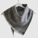 Medium Pure Merino Lambswool Twill Triangle Scarves