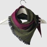 Medium Silky Dark Twill Triangle Scarves