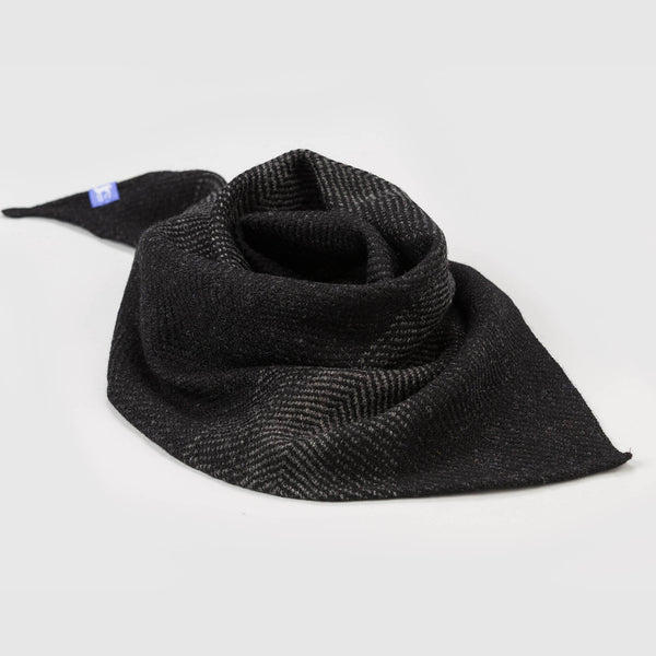Dark Twill Triangle Scarves
