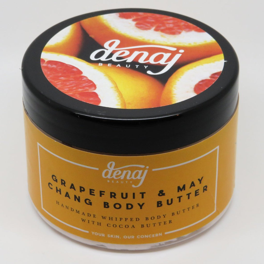Grapefruit & May Chang Whipped Body Butter