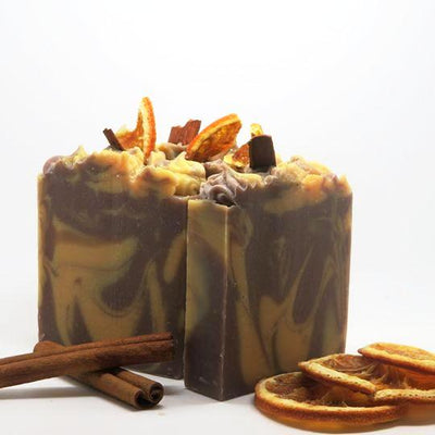 Orange Clove & Cinnamon Soap