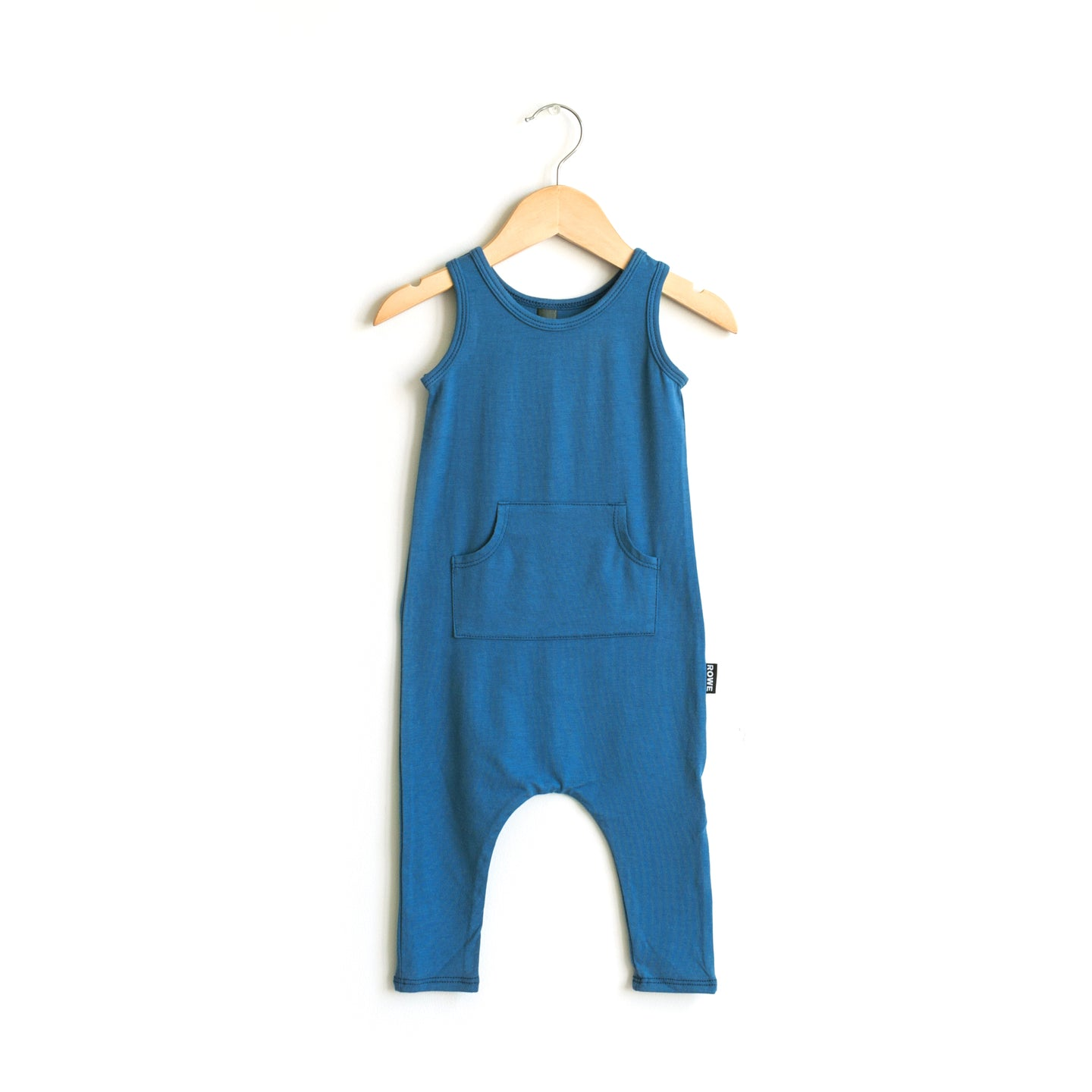 The Summer Romper in Ocean Blue