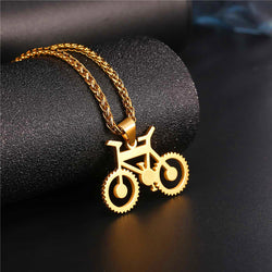 Bicycle Necklace - Biking Lovers