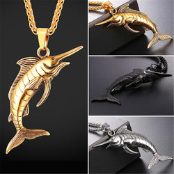 Swordfish - Fishing Lovers Necklace