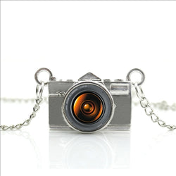 Photography Lovers Camera Necklace
