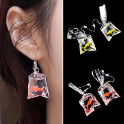 Goldfish Trendy Earrings Yellow & Red