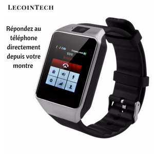 Montre Connectée Bluetooth Intelligente (39mm) Couleur Argent