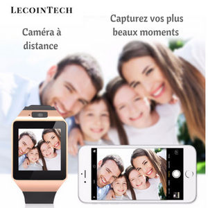 Montre Connectée Bluetooth Intelligente (39mm) Couleur Or