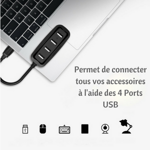 Adapteur Port USB (4 Ports USB)