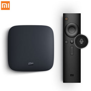 International Xiaomi MI BOX 3 Android 6.0 Smart WIFI Bluetooth 4K HDR H.265 Set-top TV Box Youtube Netflix DTS IPTV Media Player