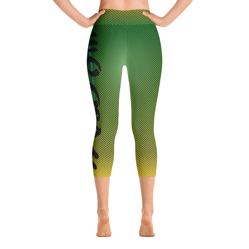 - Jade - Yoga Capri Leggings